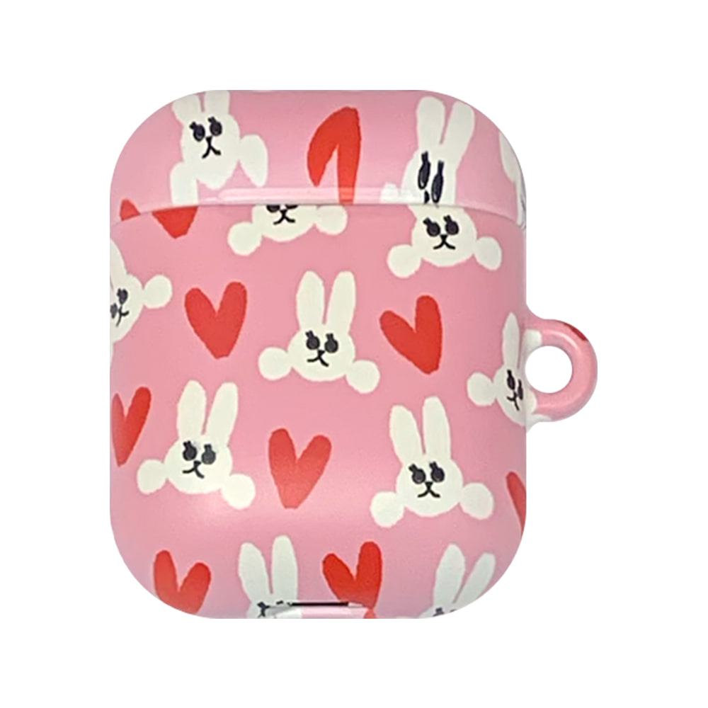 rabbit lover air-pods case